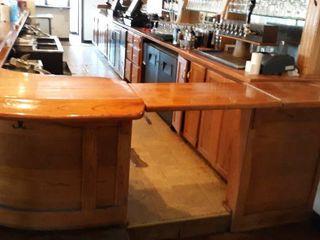 Solid Oak 30  Bar