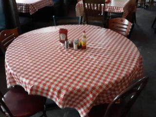 50  round or 36  square table with 5 chairs