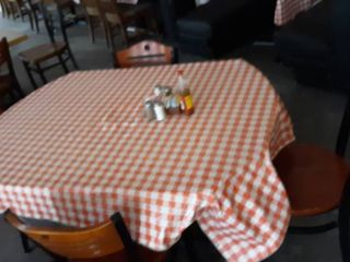 50  round or 36  square table with 4 chairs