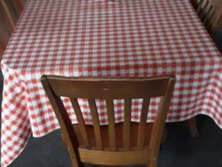 36 x 64 table 6 chairs