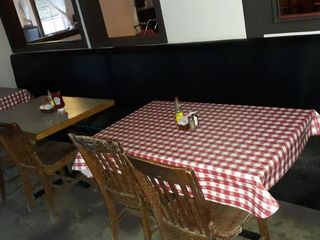 16 foot booth 3 tables 6 chairs