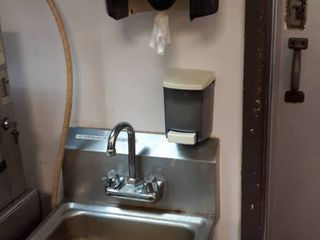 17  stainless wall mount sink