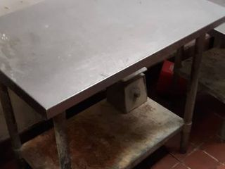 36 x 24 stainless table