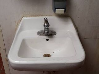 sink and dispenser