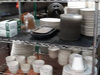 contents of shelf dishes