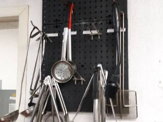 utensils and wall hanger