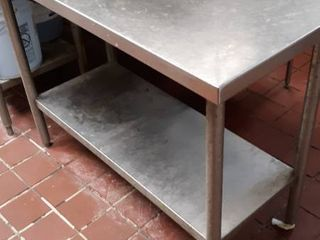 48 x 24 stainless table