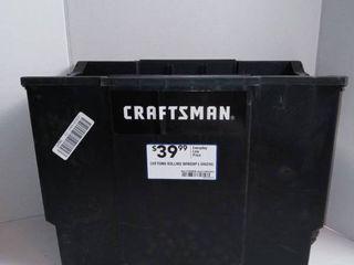Craftsman Rolling Workshop Bin on Wheels