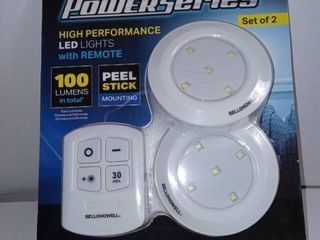 Bell  amp  Howell Power Series High Performance led lights With Remote  e