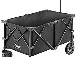 VIVOHOME Heavy Duty Collapsible Folding Outdoor Wagon