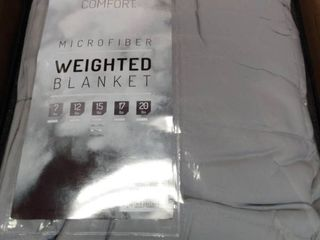 Degrees Of Comfort Microfiber Weighted Blanket