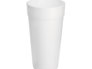 Dart Container 20J16 Drink Foam Cups  20 oz  500 Carton