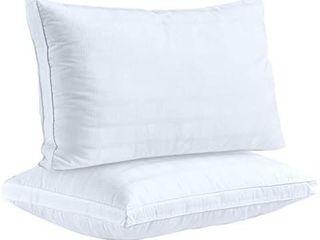 Down Alternative Pillows for Sleeping Plush 2 Pack Standard