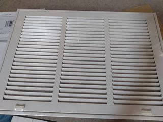 18  X 12  Return Air Filter Grille Filter Included   Removable Face door