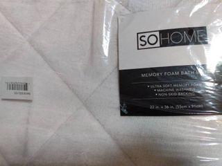 SoHome Memory Foam Bath Mat