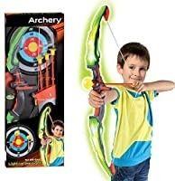 Kids Archery Bow Arrow Toy Set with Target