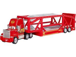 Disney Pixar Cars launching Mack Transporter   Red