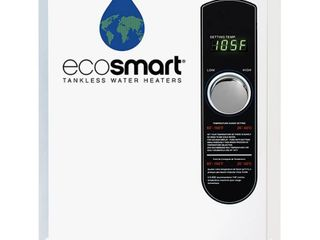 Ecosmart ECO 18 Electric Tankless Water Heater  18 KW at 240 Volts with Patented Self Modulating Technology