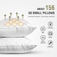 SORMAG Bed Pillow for Sleeping Queen Size 20 x 30 Inches  luxury Hotel Collection Gel Pillows SINGlE  Hypoallergenic Pillow for Side and Back Sleeper