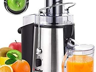 Mueller Austria Juicer Ultra 1100W Power  Easy Clean Extractor Press Centrifugal Juicing Machine
