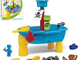 Outdoor Pirate Sand and Water Table