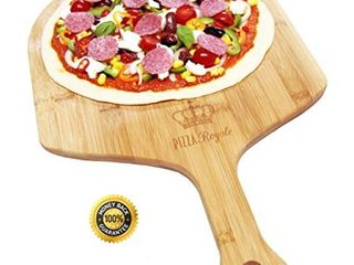 Pizza Royale 5 Ethically Sourced Premium Natural Bamboo Pizza Peel
