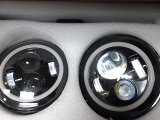 7 high low led headlight Unknown Fit