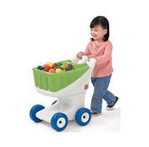 Step 2 little Helper s Grocery Shopping Cart  Green for Toddlers