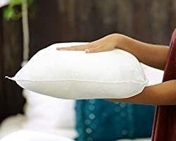 Foamily 18 x 18 Premium Hypoallergenic Stuffer Pillow Insert Sham Square Form Polyester  18  l X 18  W  Standard White
