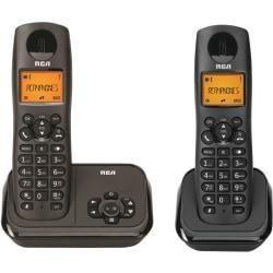 RCA 2162 2BKGA 2 4 Ghz Radio Frequency 29 Handset 2 line landline Telephone