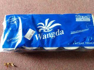 Wangda 10 Roll 3 PlY Tissue