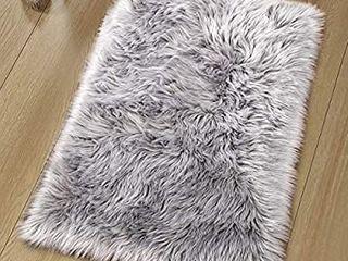 Noahas luxury Fluffy Rugs Bedroom Furry Carpet Bedside Faux Fur Sheepskin Area Rugs