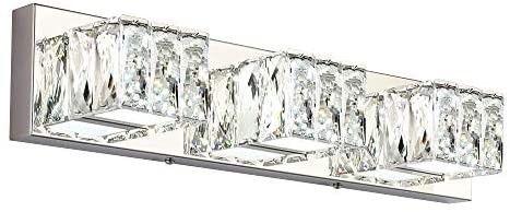 ZUZITO lED Bathroom Vanity lighting Fixtures Modern Crystal Vanity light