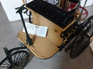 The 1886 Benz Patent Motorwagen 1 8 scale
