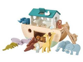 Girl s Tender leaf Toys Noah s Ark Wooden Play Set