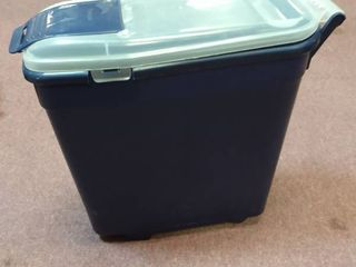 BERGAN PET FOOD STORAGE CONTAINER 18  tall