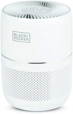 BlACK DECKER Tabletop Air Purifier   3 Stage Filtration System   HEPA Air Purifiers for Home
