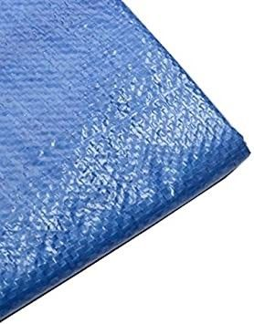 Tarp Cover Blue  Heavy Duty 40 x60  Waterproof  Great for Tarpaulin Canopy Tent  Boat  RV Or Pool Cover