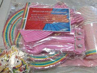 Unicorn Birthday Party Supply Set