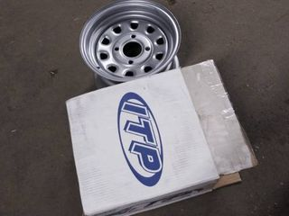 itp delta steel silver wheel with machined finish 12 x 7 inch