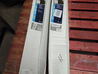 Deckorators 39 In Plg Aluminum Post only Matte Black 2 boxes