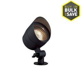 Portfolio 20 Watt  20W Equivalent  Black low Voltage Halogen Spot light
