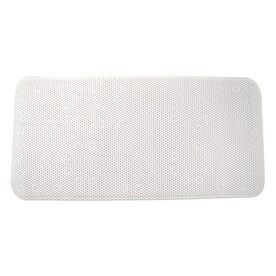 Style Selections 36 in x 17 in White Polyester Bath Mat