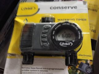 orbit conserve watering timer 2 outlet