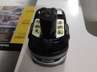 ryobi battery lithium and hp 18 v 3 ah
