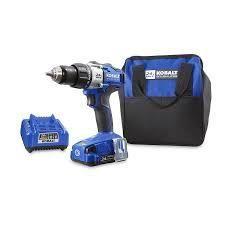 kobalt 24v max brushles compact drill driver kit