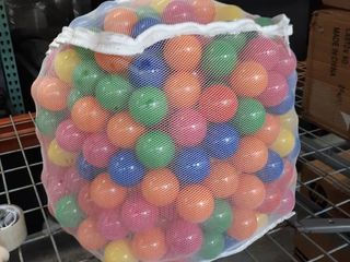 Colorful SmashProof Balls in a mesh bag
