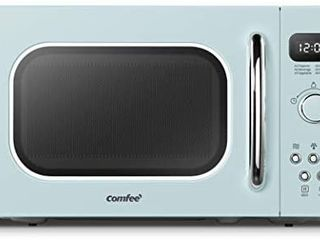 Comfee  Am720c2ra g Retro Style Countertop Microwave Oven With 9 Auto Menus Eco