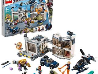 lEGO Marvel Avengers Compound Battle Collectibles Building Set with Superhero Minifigures 76131