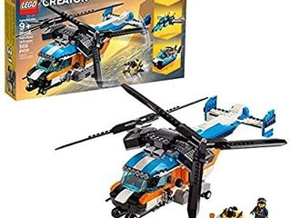 lego Creator 3in1 Twin Rotor Helicopter 31096 Building Kit  569 Pieces